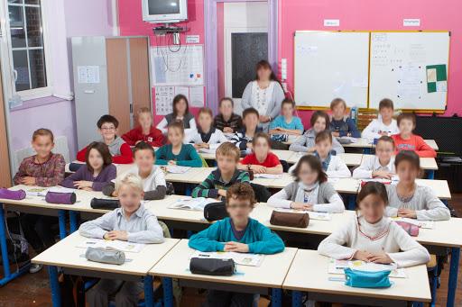 Groupe traditionnel dans la classe