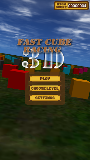 Real Fast Cube Racing 3D