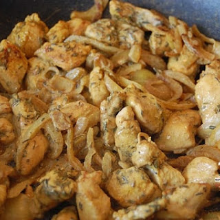 Curry and Thyme Chicken Wok.