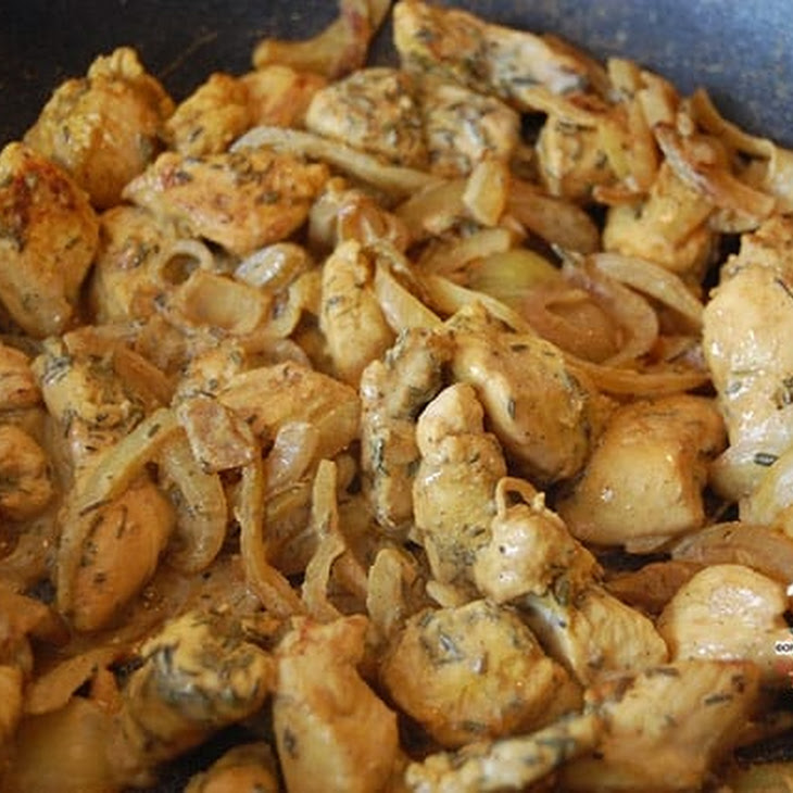 Curry and Thyme Chicken Wok