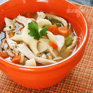 Leftover Turkey Noodle Soup