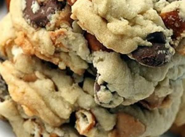 Pretzel, Chocolate & Pb Chip Cookies Recipe