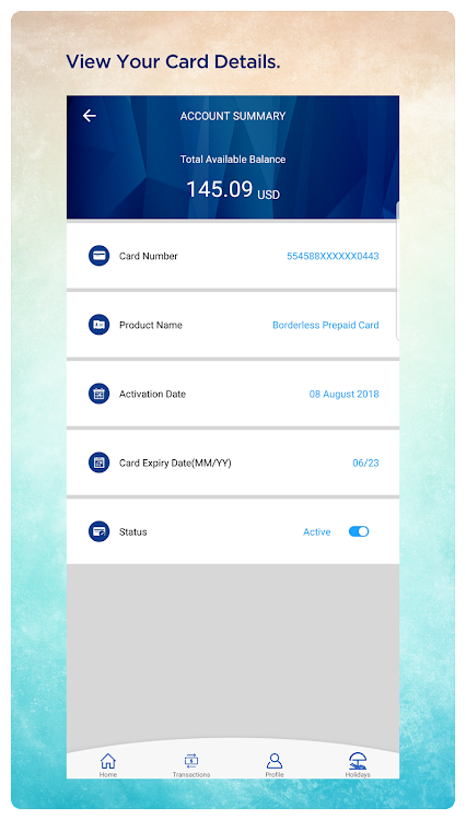 Transfer Money From Borderless Prepaid Card To Bank Account