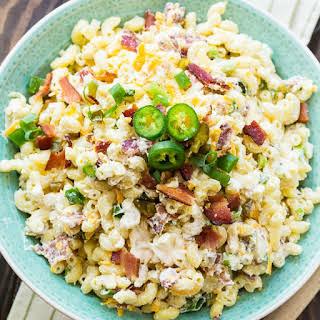 Jalapeno Popper Pasta Salad.