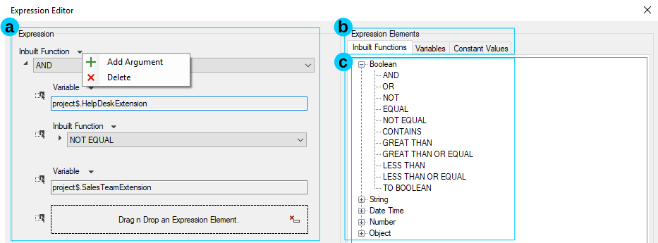Configure Components with the Prompt Collection and