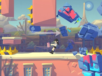 Smashing Rush : Parkour Action Run Game Screenshot