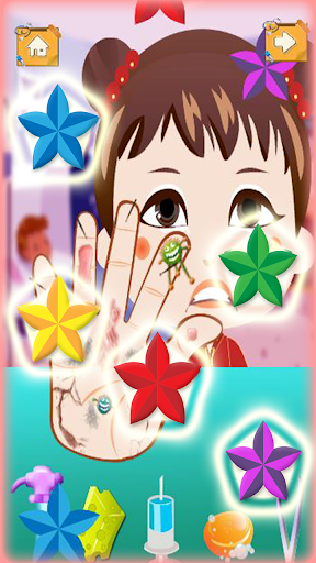 女嬰手醫生孩子的遊戲|玩教育App免費|玩APPs