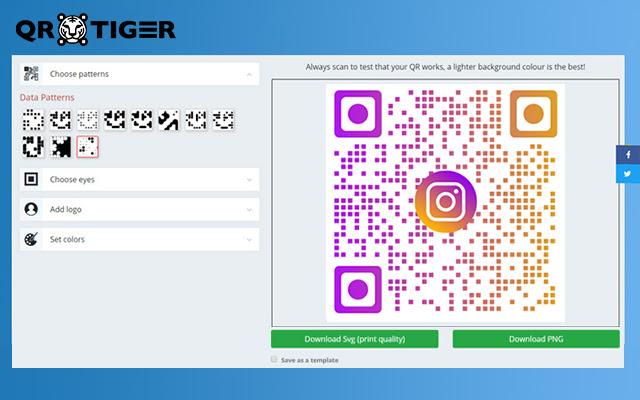 QR Code generator with logo – QRTiger