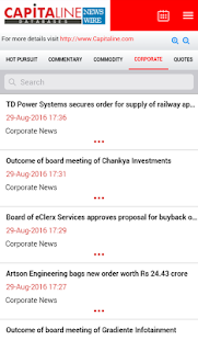 Capitaline Newswire- screenshot thumbnail