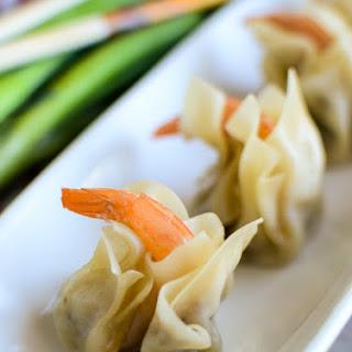 Pork and Shrimp Chinese Won Tons Recipe