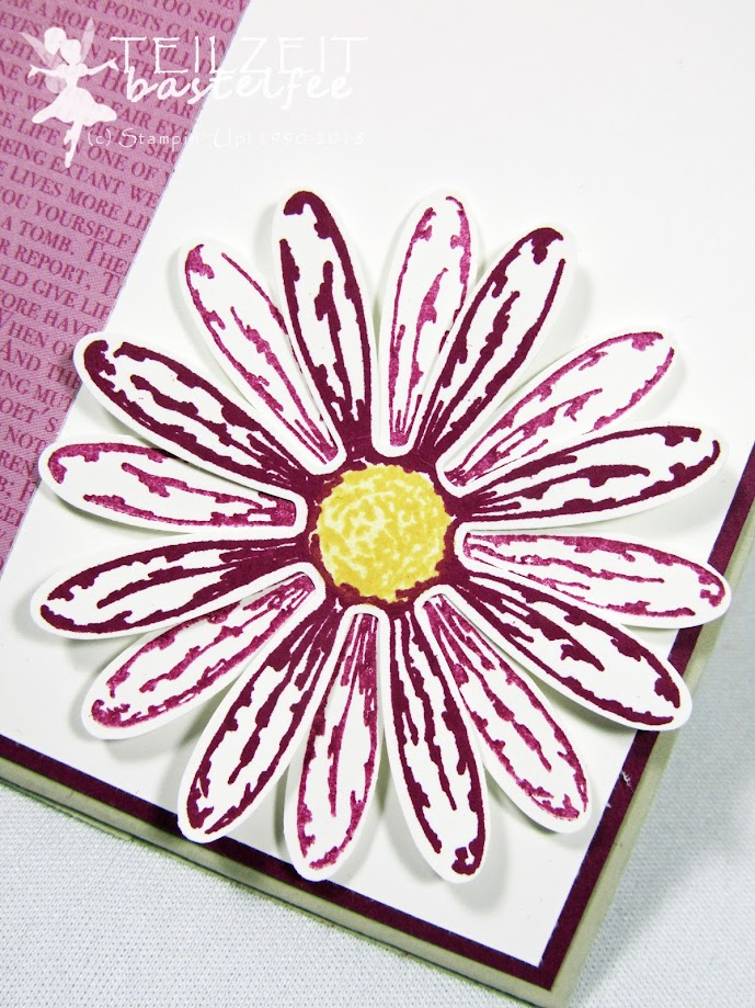 Stampin' Up! - IN{K}SPIRE_me Color Challenge #345, Daisy Punch, Daisy Delight, Stanze Gänseblümchen, Gänseblümchengruß, Mini Treat Bag Thinlits, Mini-Leckereientüte