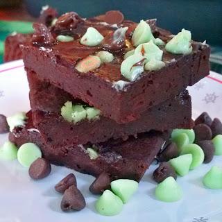 Beet Chocolate Mint Brownies (Gluten-Free)