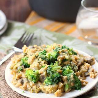 Vegan Broccoli Cheese Casserole