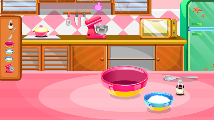 games strawberry cooking - screenshot