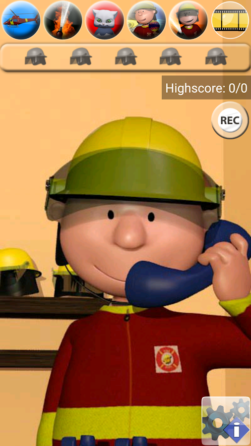 Talking Max the Firefighter- screenshot