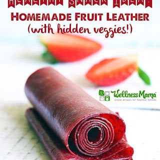 Strawberry Fruit Leather Recipe (with Beets).