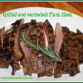 Grilled (and marinated) Flank Steak