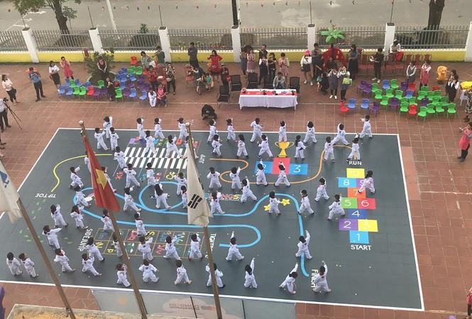 Taekwondo mang lại những hiệu quả tuyệt vời đối với sự phát triển của trẻ