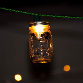 IMG_3719 by Joshua L. Dearden - Artistic Objects Cups, Plates & Utensils ( lantern, jar light, mason jar )