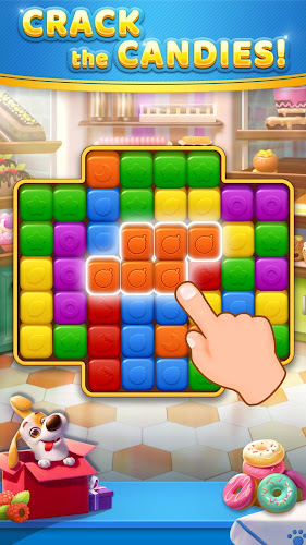 Yummy Cubes Android App Screenshot