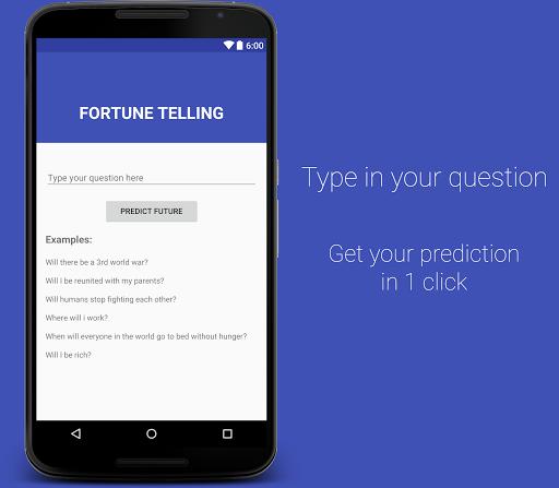 Predict Your Future Fortune