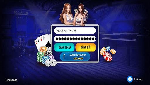 Game bai 3C - Danh bai doi thuong Online 1.0 screenshots 1