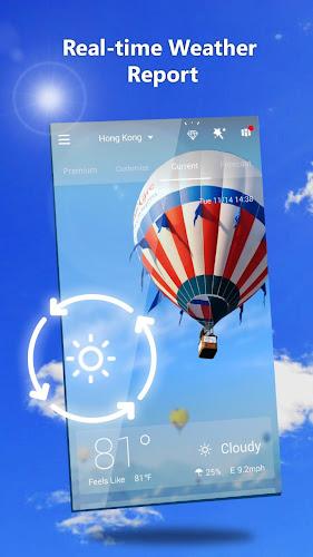 GO Weather - Widget, Theme, Wallpaper, Efficient Android App Screenshot