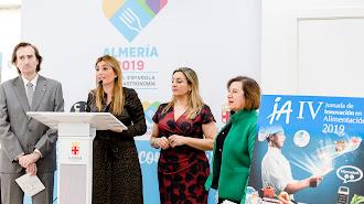 Presentación de la jornada en la sede de \'Almería 2019\'