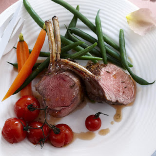 Glazed Rack of Lamb