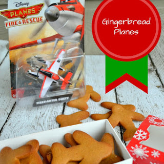 Gingerbread Planes { A #Planes to theRescue Christmas Cookie Recipe}