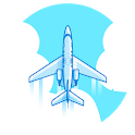 Flight Tracker Live With Maps & GPS Flight Radar icon