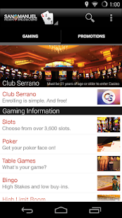San Manuel Casino- screenshot thumbnail