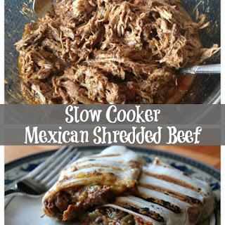 Slow Cooker Mexican Shredded Beef Freezer Meal Starter Recipe