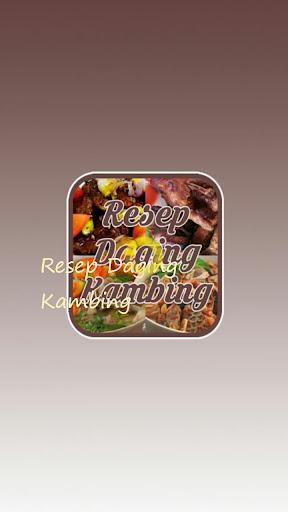 Resep Daging Kambing