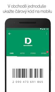 OneCard - věrnostní karty - náhled