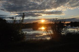 Photo: Zachód słońca przed Skalatem
