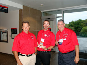 Photo: Bob Kilpatrick, Dan Redmond (CRC Co-Chair), Don Weekes (OVC Delegate)