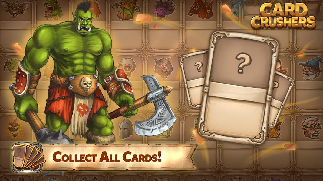Card Crushers: Multiplayer monster battle CCG