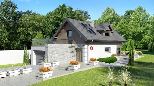 projekt Dom przy Migdałowej 2