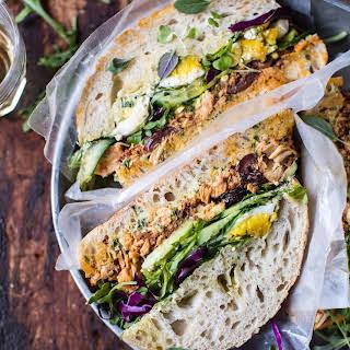 Tuscan Tuna Sandwich..