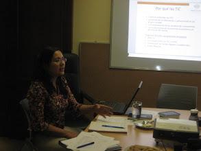 Photo: Sra. Xitlali Sandino Representante de REDES en  Nicaragua