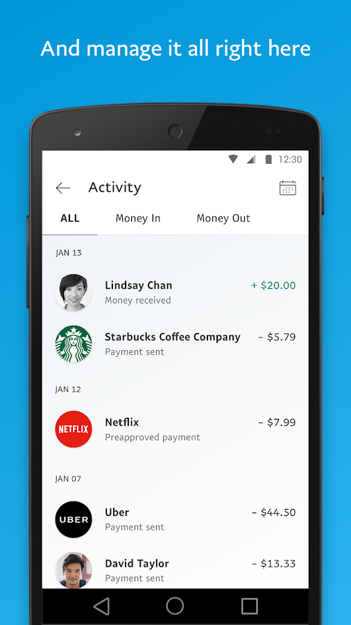 apps like paypal