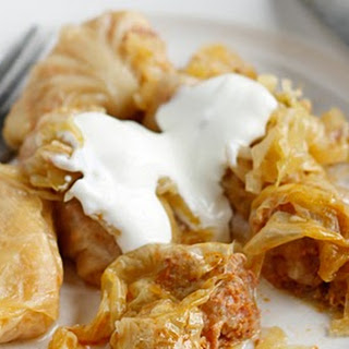 Hungarian stuffed Cabbage
