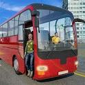 City Coach Bus Classic Passenger Drive icon