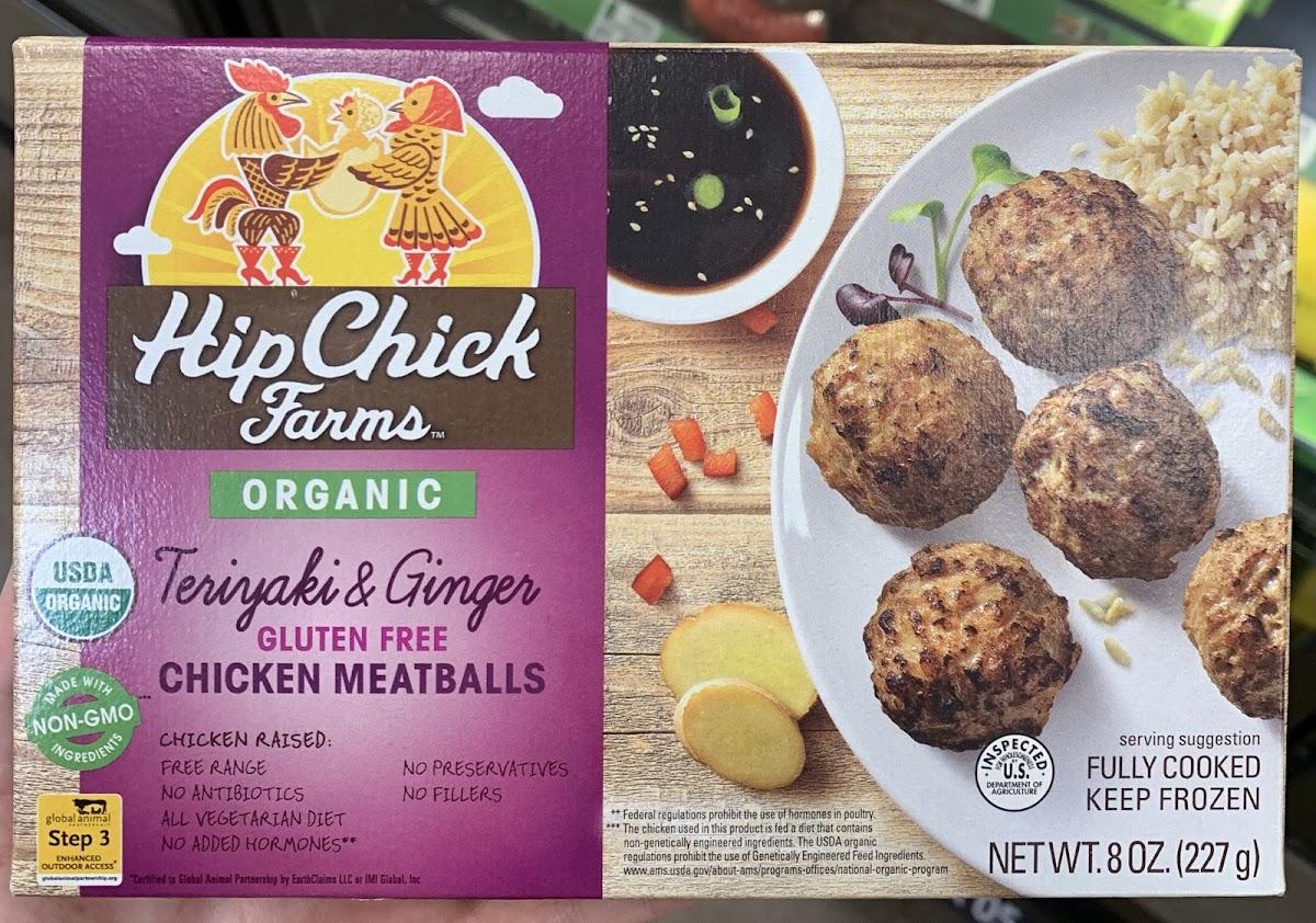 Teriyaki & Ginger Gluten Free Chicken Meatballs