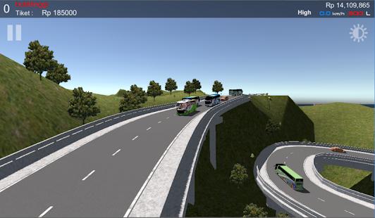 IDBS Simulator Bus Lintas Sumatera - náhled