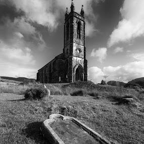 Dunlewy Church Co. Donegal by Helen Quirke  - Buildings & Architecture Public & Historical ( old church, donegal, dunlewy church co. donegal, ireland )