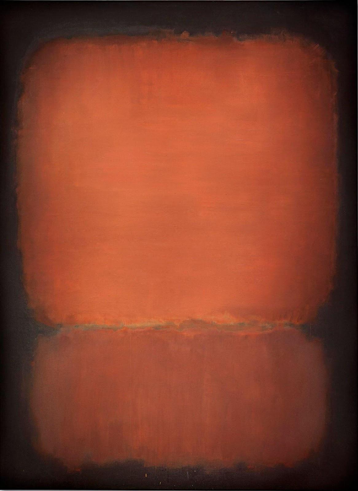Mark Rothko, No. 10, 1958, acrylique sur toile adjugée 65159800 euros par Christie's New York en 2015