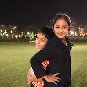Style by Manoj Ojha - Babies & Children Child Portraits ( majaz, female, male, uae, night, kids, waterfront, sharjah )