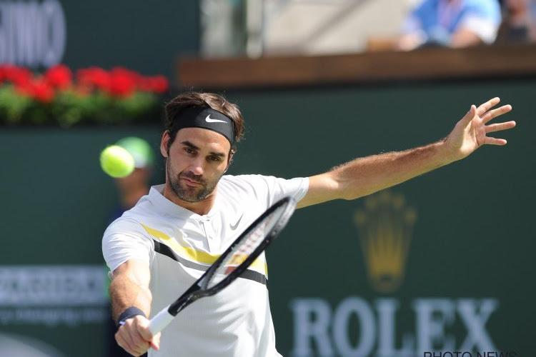 Roger Federer geeft drie matchballen weg en weet dan toch nog wat verliezen is in 2018